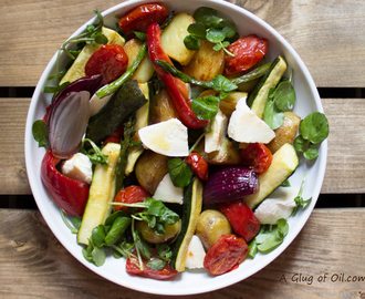 Love Potatoes - Mozzarella, Plum Tomato and Roast Potato Salad