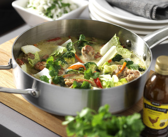 Chicken green curry | Recept från touchoftaste.se