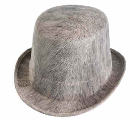 Hatt - cylinderhatt - ghostly top hat
