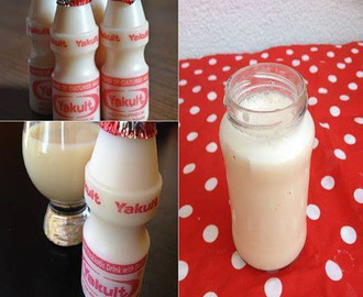 Yakult Caseiro de 2 Ingredientes