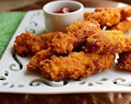 Ketogenic diet: Morning chicken strips (Cook en the pressure cooker)