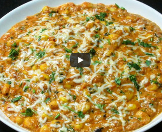 Masala Corn Sabzi Recipe Video
