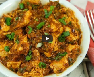 Tawa Paneer Masala Recipe Video