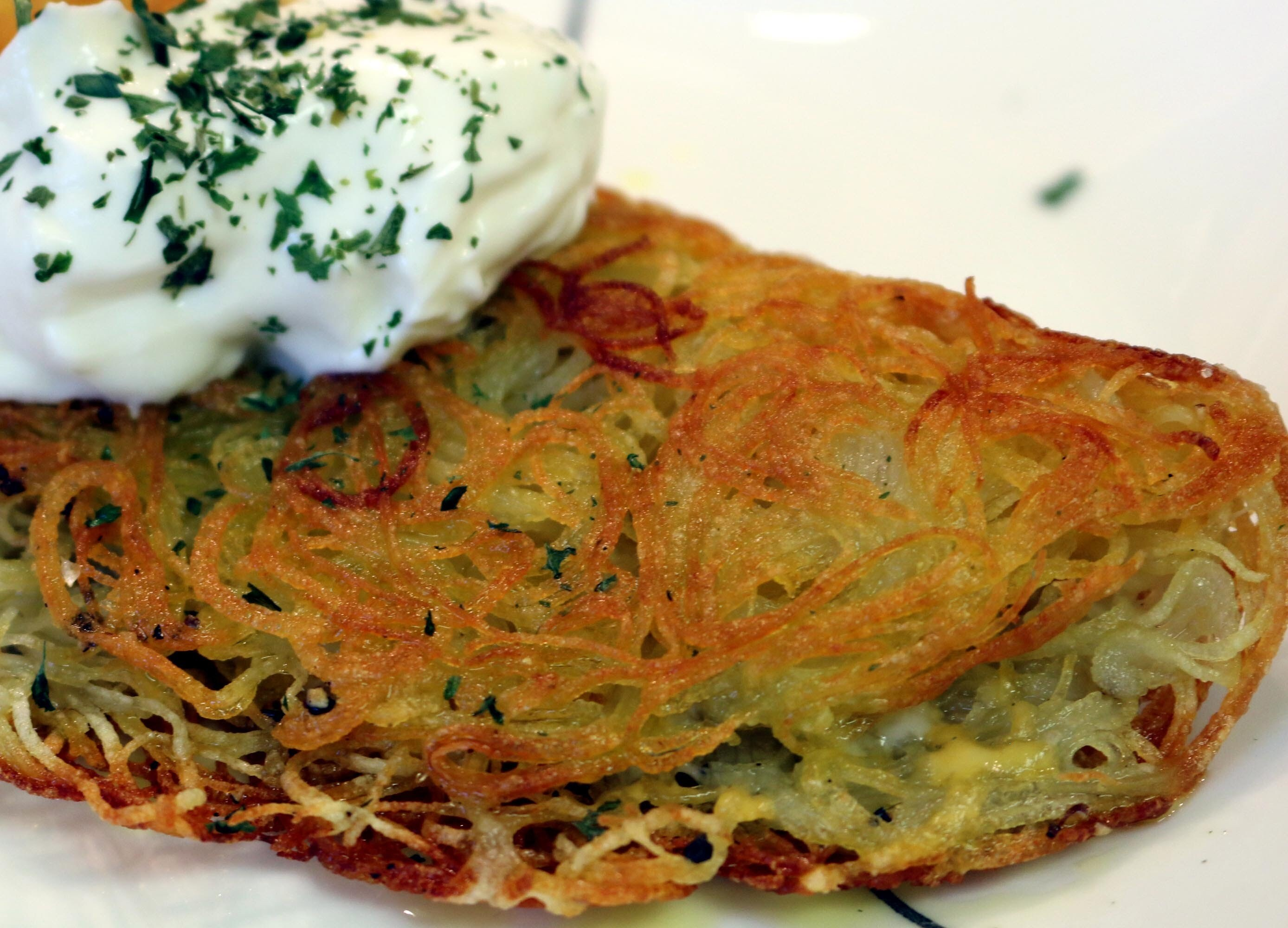 10 minute easy potato rosti recipe with Chef Cristian Feher | Food Chain TV - YouTube
