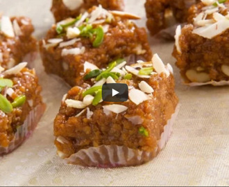 Bread Barfi Recipe Video