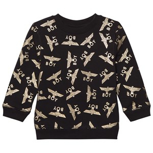 Boy London Boy Repeat Sweatshirt Black/Gold 7-8 years