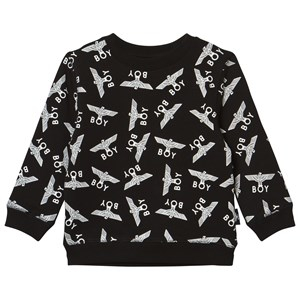 Boy London Boy Repeat Sweatshirt Black/White 7-8 years