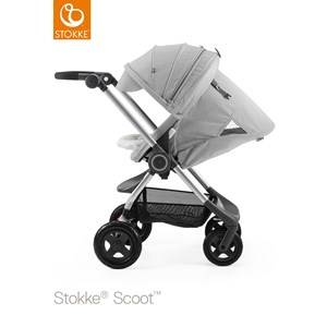 Stokke Scoot Chassis Grey Melange Scoot Chassis Grey Melange
