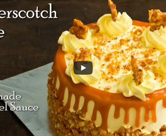 Butterscotch Cake Recipe Video