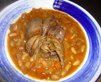 Venison Shank on a Cannellini Bean and Fennel Stew Recipe – spaulyseasonalservings