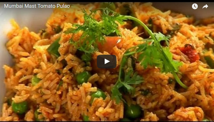 Mumbai Mast Tomato Pulao Recipe Video