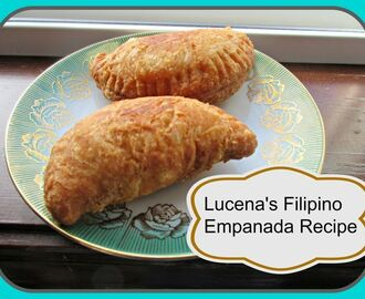 Lucena's Filipino Empanada Recipe