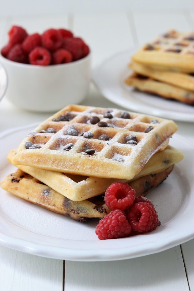 Wafels met Chocolate Chips
