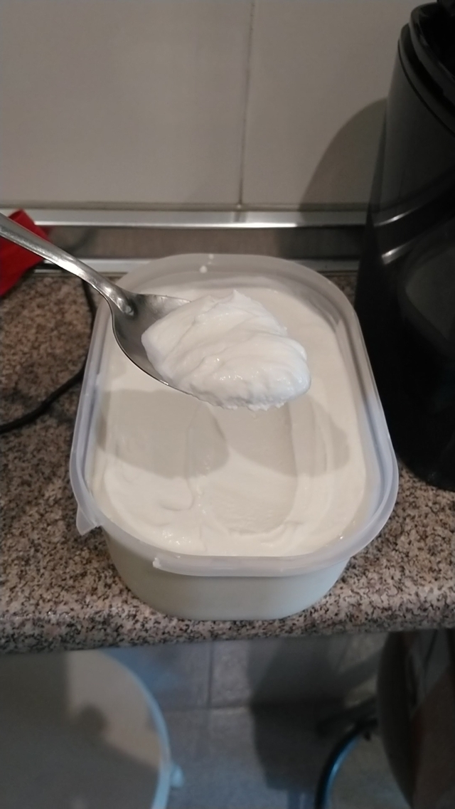 Helado De Yogurt Con Heladera (3 ingredientes)
