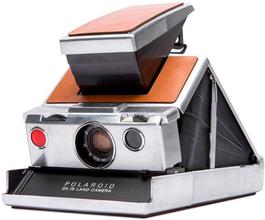 Polaroid Sx-70 Silver/Brown, Polaroid