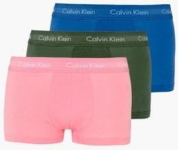 Calvin Klein Underwear Low Rise Trunk 3PK Boxershorts Pink