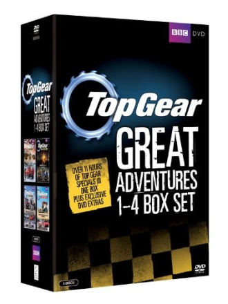 Top Gear - The Great Adventures: 1-4 (8 disc)(Import)
