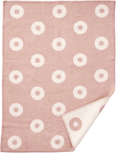 Babyfilt RINGS BABY rosa, Klippan Yllefabrik