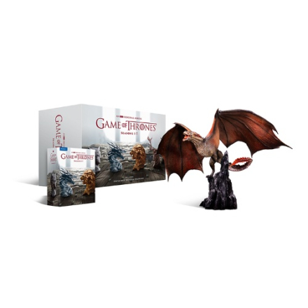 Game of Thrones - Säsong 1-7: Drogon Limited Edition (Blu-ray)
