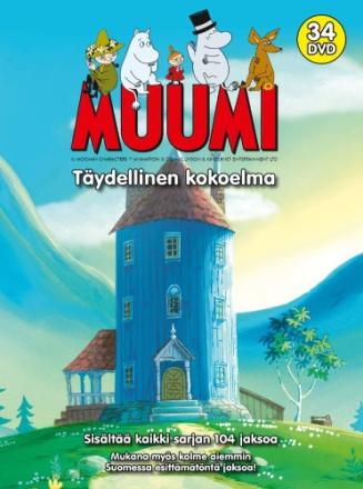 Muumin Box - Ny dubbning 2017