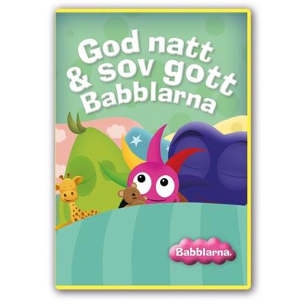Hatten förlaget Babblarna, DVD - God natt & sov gott Babblarna