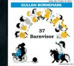 Gullan Bornemark - 37 barnvisor (CD)