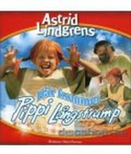 Här kommer Pippi Långstrump (Ljudbok) (SF) (CD)