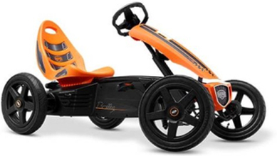 BERG Rally Orange Trampbil