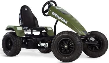 Jeep® Revolution pedal go-kart E-BFR Trampbil
