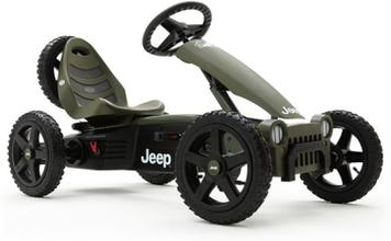 Jeep® Adventure Pedal-Gokart Trampbil