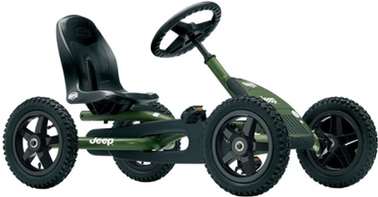 Jeep® Junior Pedal Go-kart Trampbil