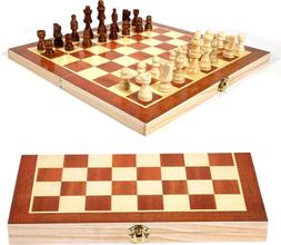 Vikbart Schackspel i trä