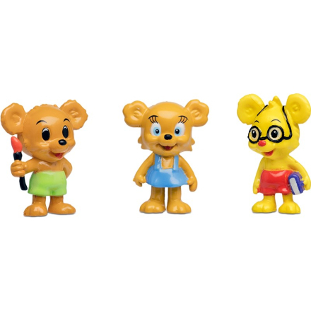 BamseBamse Figurset, Nalle-Maja, Brum & Teddy