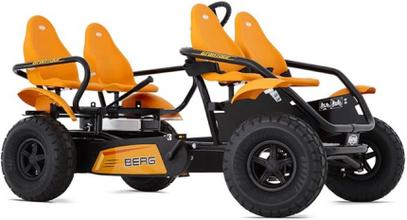 BERG E-Gran Tour Off-Road 4 seater Trampbil