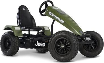 Jeep® Revolution pedal go-kart BFR-3 Trampbil