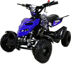 Mini ATV 49cc bensin - ATV-10 - Blå