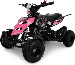 Mini ATV 49cc bensin - ATV-10 - Rosa