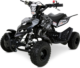 Mini ATV 49cc bensin - ATV-10 - Svart