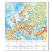 Väggblad med Europakarta