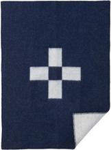 Cross Barnfilt eko lammull Blue, Klippan Yllefabrik