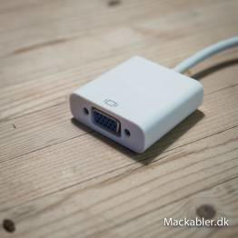 Mini DisplayPort til VGA-adapter