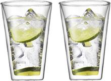 Canteen glass med dobbelt vegg 2 pakn. 0,4 l