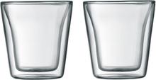 Canteen glass med dobbelt vegg 2 pakn. 0,1 l