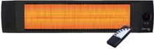 Opranic Infravärmare LAVA 1,4kW-2,3kW Svart
