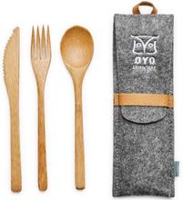 ØYO Turtagrø Cutlery Serveringsutrustning Grå OneSize