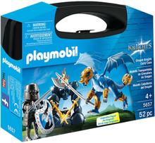 Playmobil Knights Riddare och drake i bärväska