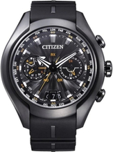 Citizen Eco-Drive Satellite Wave Men's Urethane Strap Uhr CC1075-05E - Schwarz