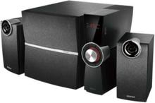 C2X - högtalarsystem - För PC - kabelans - 2.1-kanals - Black