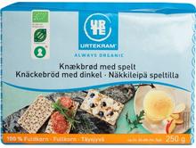Urtekram Bio Dinkel Vollkorn-Knäckebrot 250 g