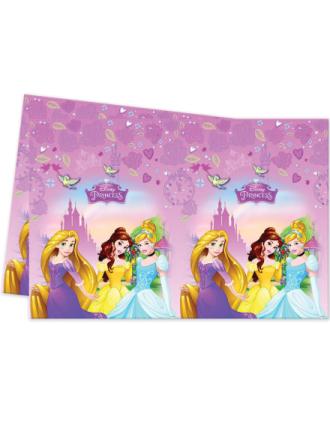 plast bordsduk 120x180 cm Disney Prinsessor One-size